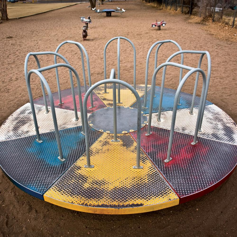 Does More Time On Playground Equal >> Death Defying Merry Go Rounds And Knee Scraping Climbing Bars Are