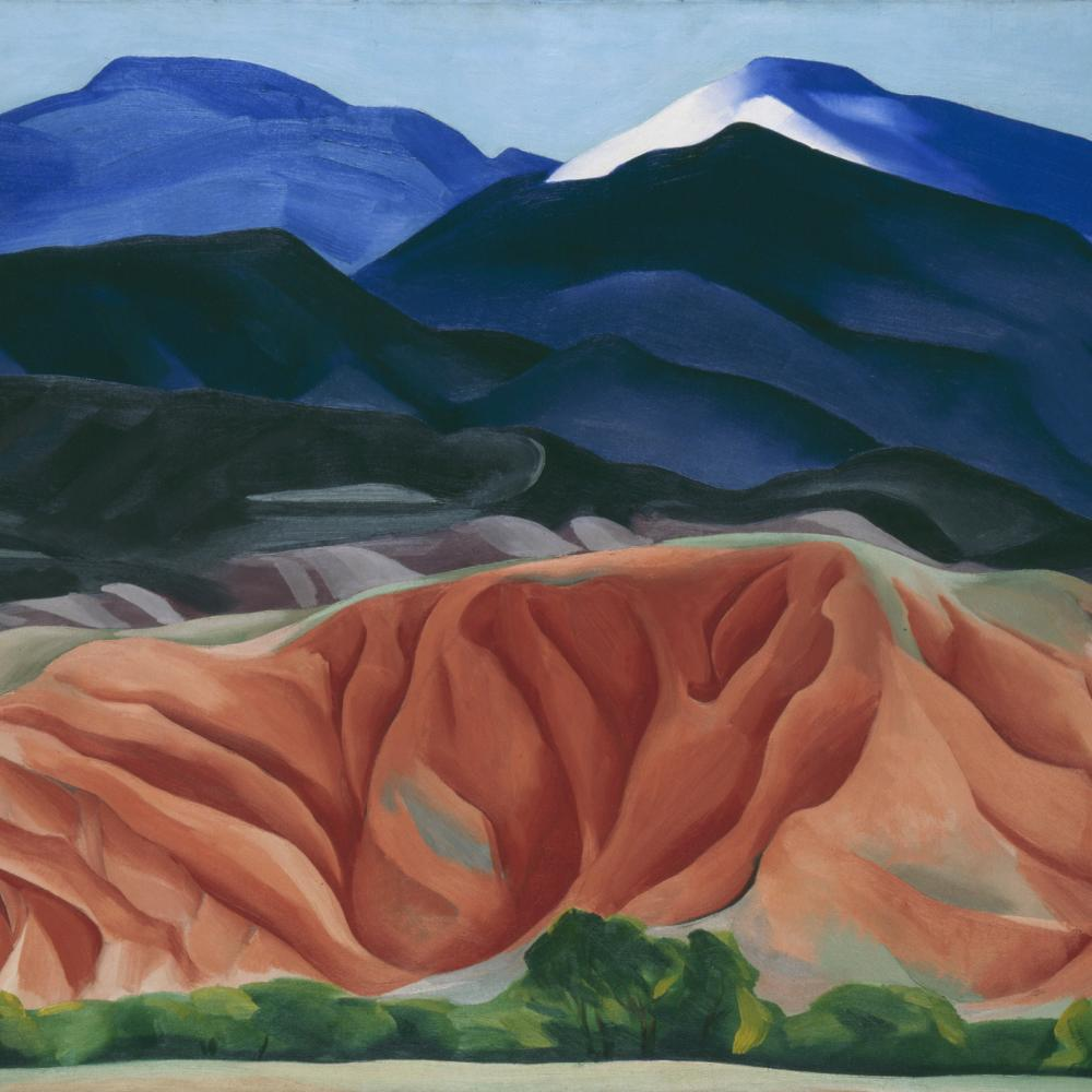 Georgia O'Keeffe. Black Mesa Landscape, New Mexico / Out Back of Marie's II, 1930