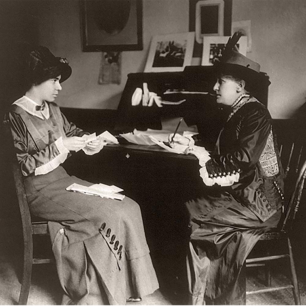 Alice Paul and Helen Hamilton Gardener before they became rivals