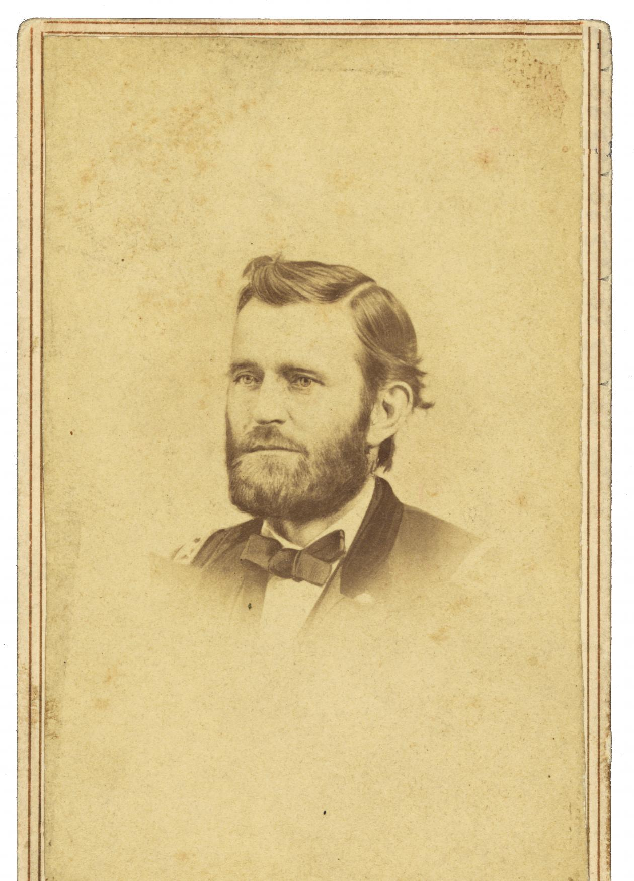 What Drove Ulysses Grant To Write About The Civil War  National  Portrait Of Ulysses S Grant Done In Sepia