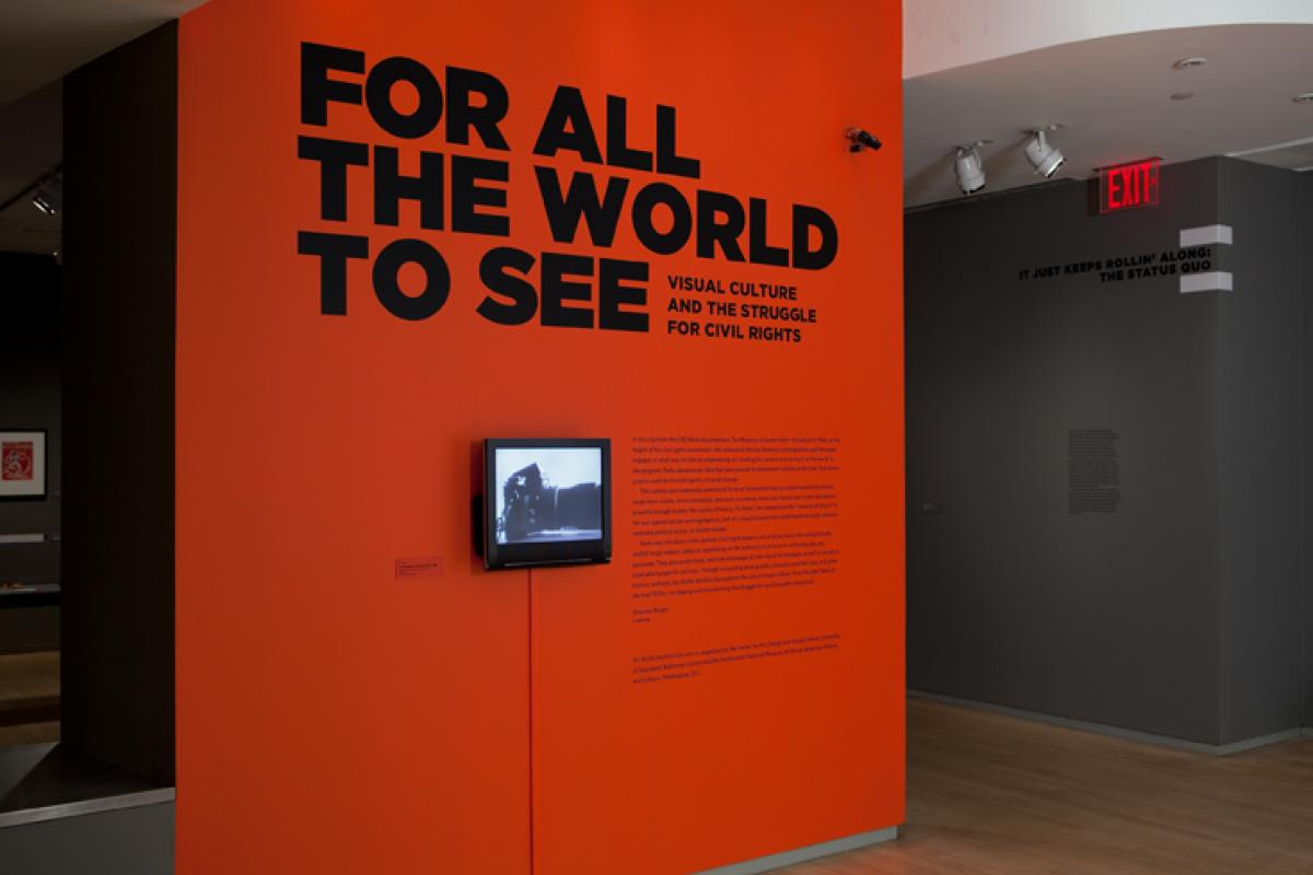 For All The World To See exhibition at the International Center of Photography