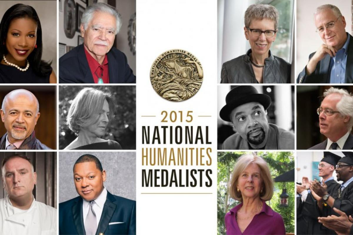 President Obama to Award 2015 National Humanities Medals