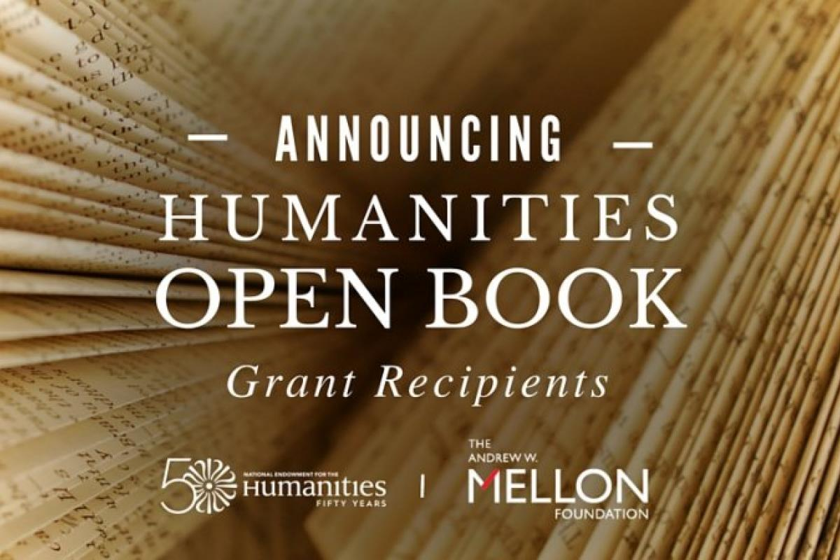 National Endowment for the Humanities--- Humanities Open Book
