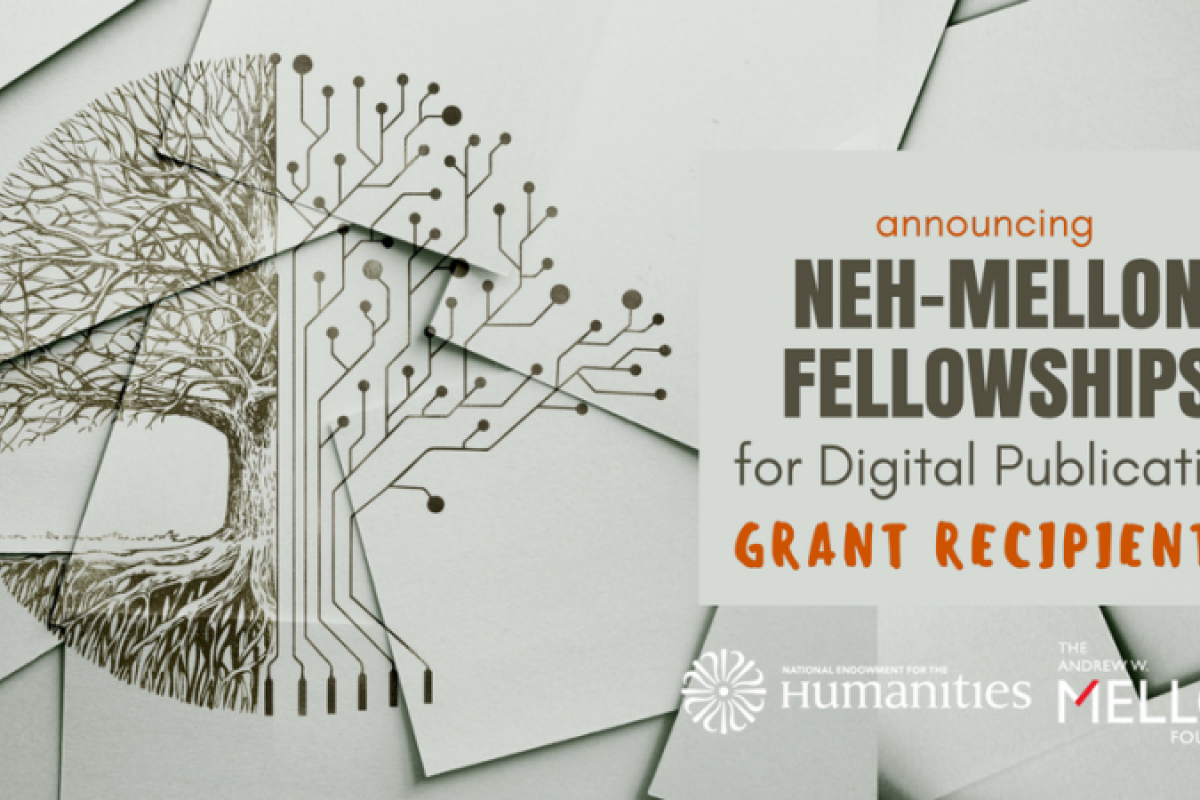 NEH and the Andrew W. Mellon Foundation Announce Fellowships for Digital Publication