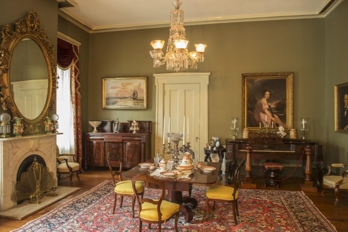 Parlor of Oakleigh House