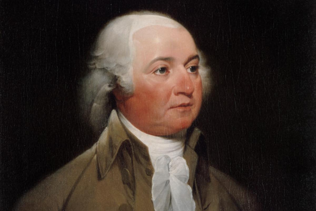 Portrait of John Adams as Vice President