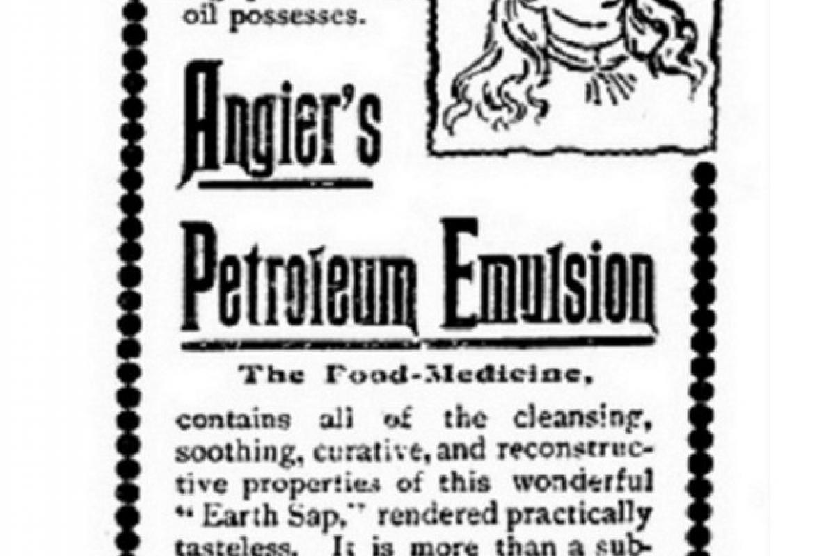 Angier's Petroleum Emulsion