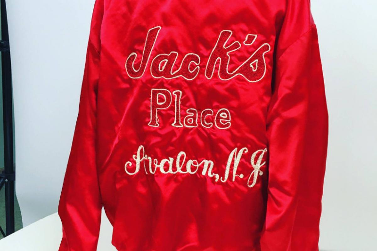 Embroidered jacket from Jack's Place in Avalon