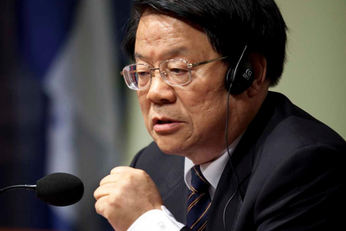 Chinese Minister of Culture Cai Wu