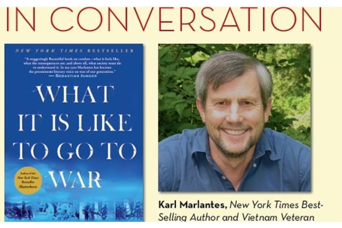 California Reads: WHAT IS IT LIKE TO GO TO WAR