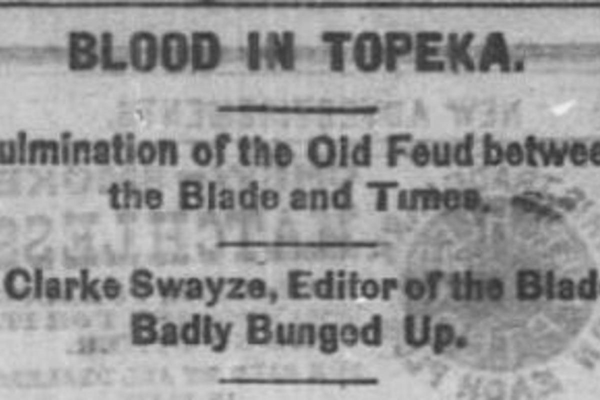 Blood in Topeka