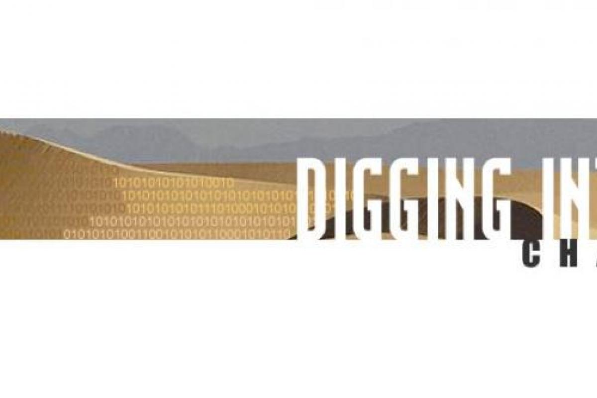 Digging into Data Banner logo