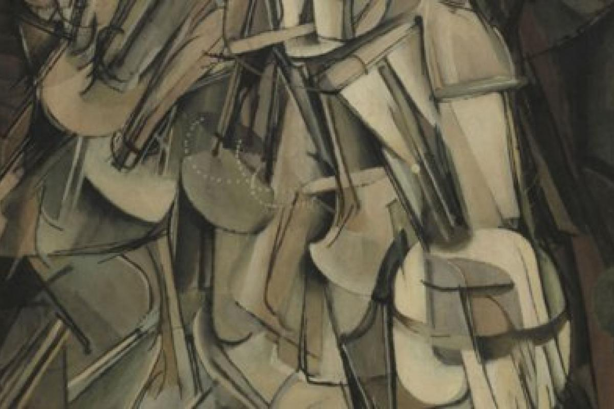 Marcel Duchamp (French, 1887-1968), Nude Descending a Staircase