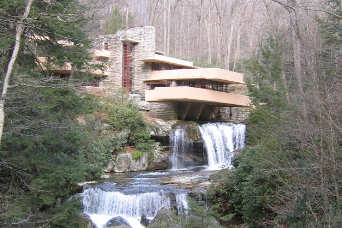 photo of house called Fallingwater