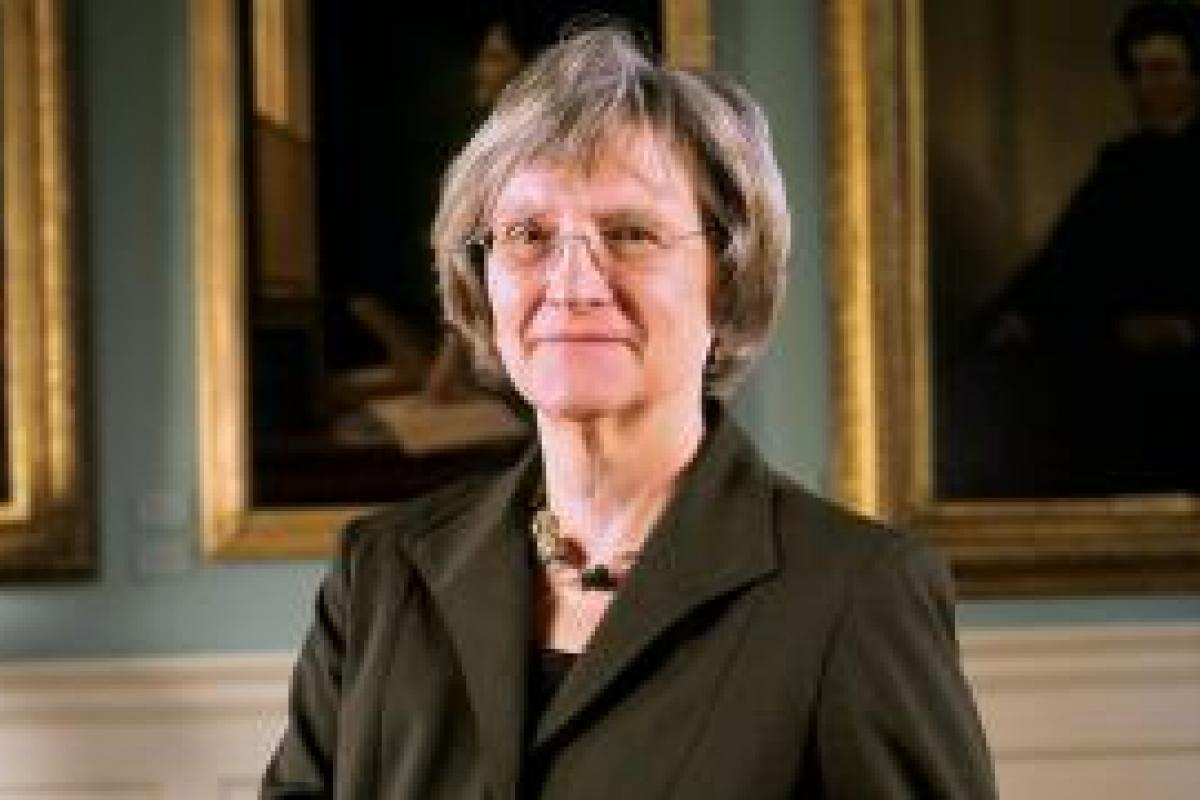 Drew Gilpin Faust, 2011 Jefferson Lecturer in the Humanities