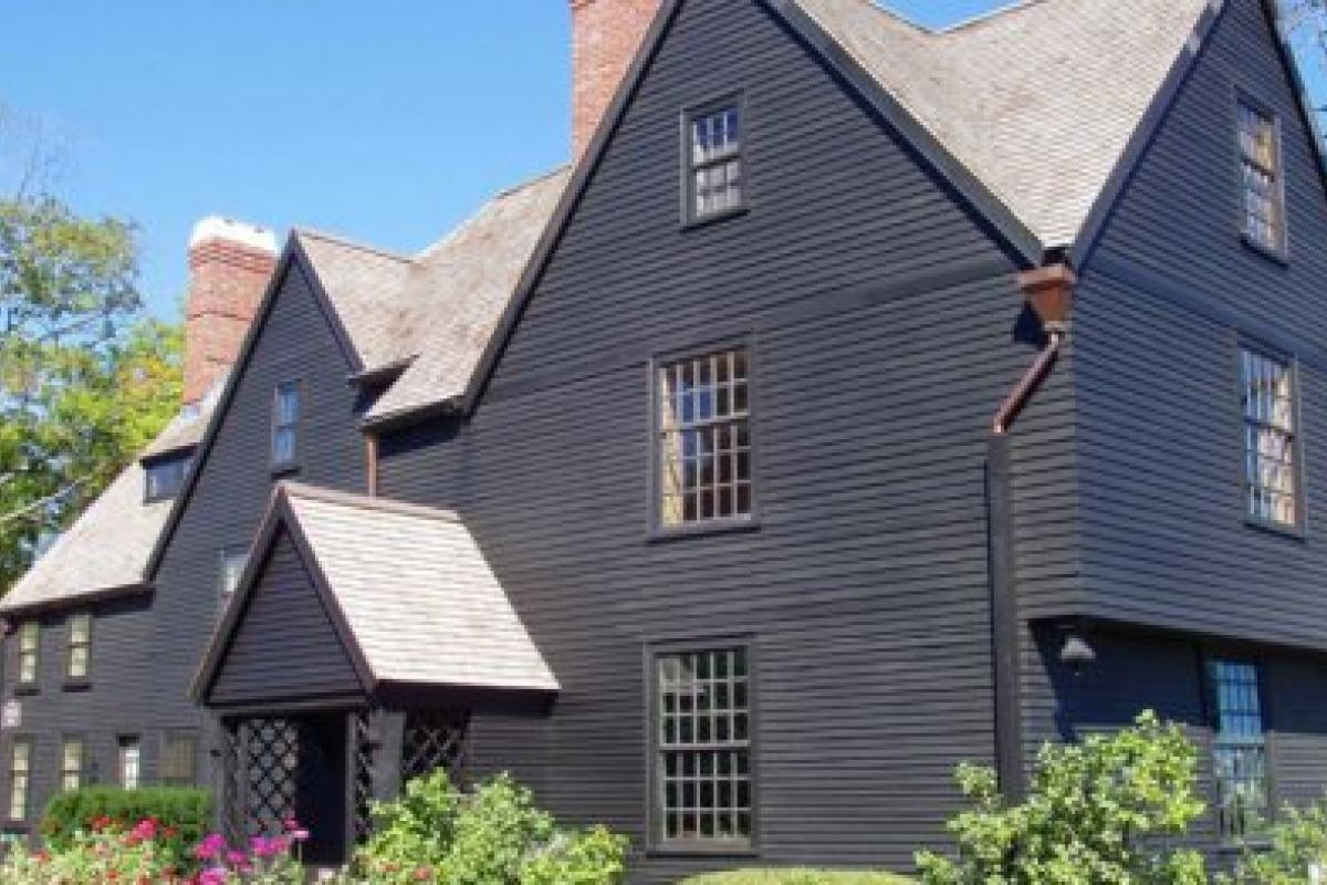 "Turner-Ingersoll House, aka ""The House of the Seven Gables"" in Salem, Mass."