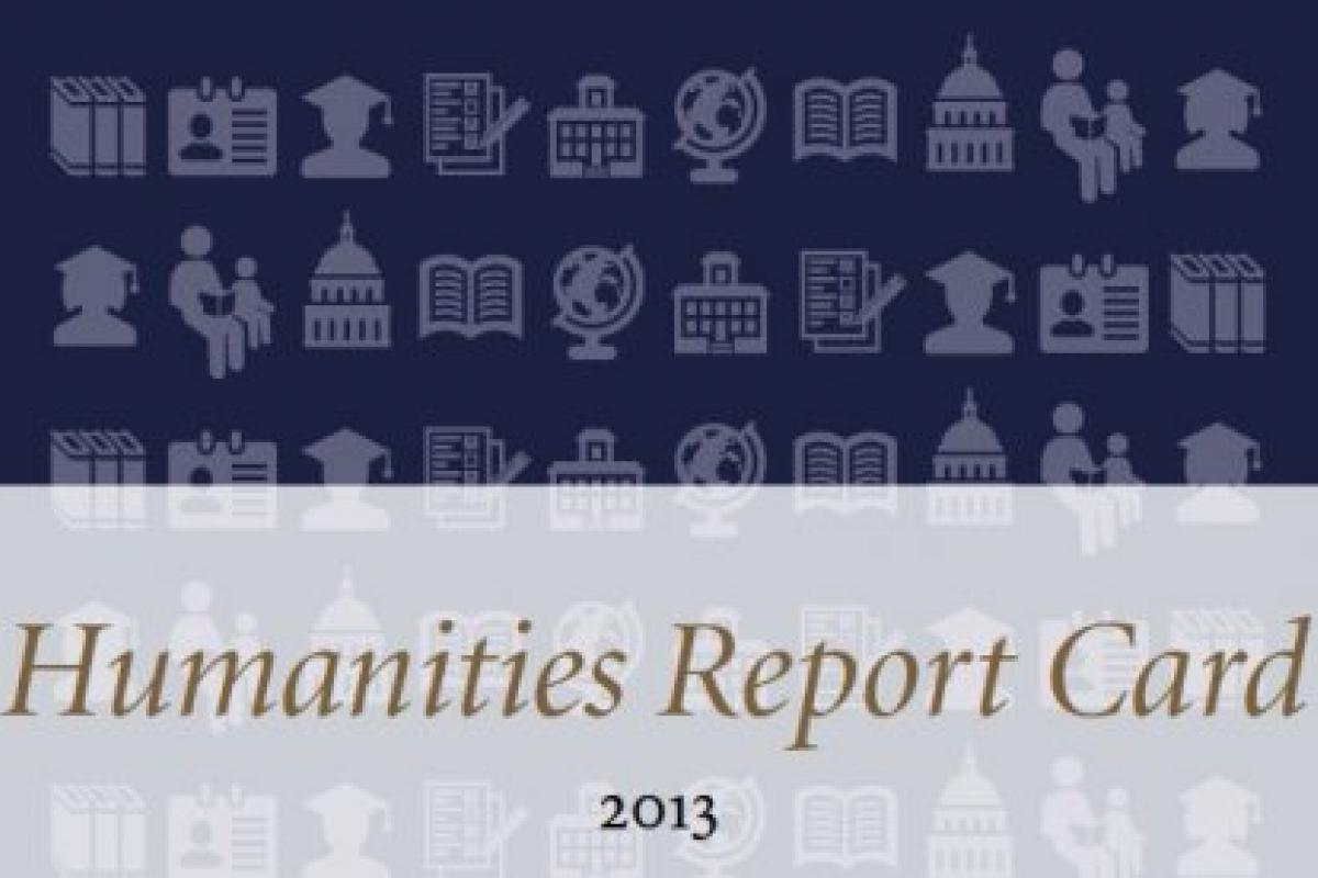 Humanities Report Card 2013 cover image