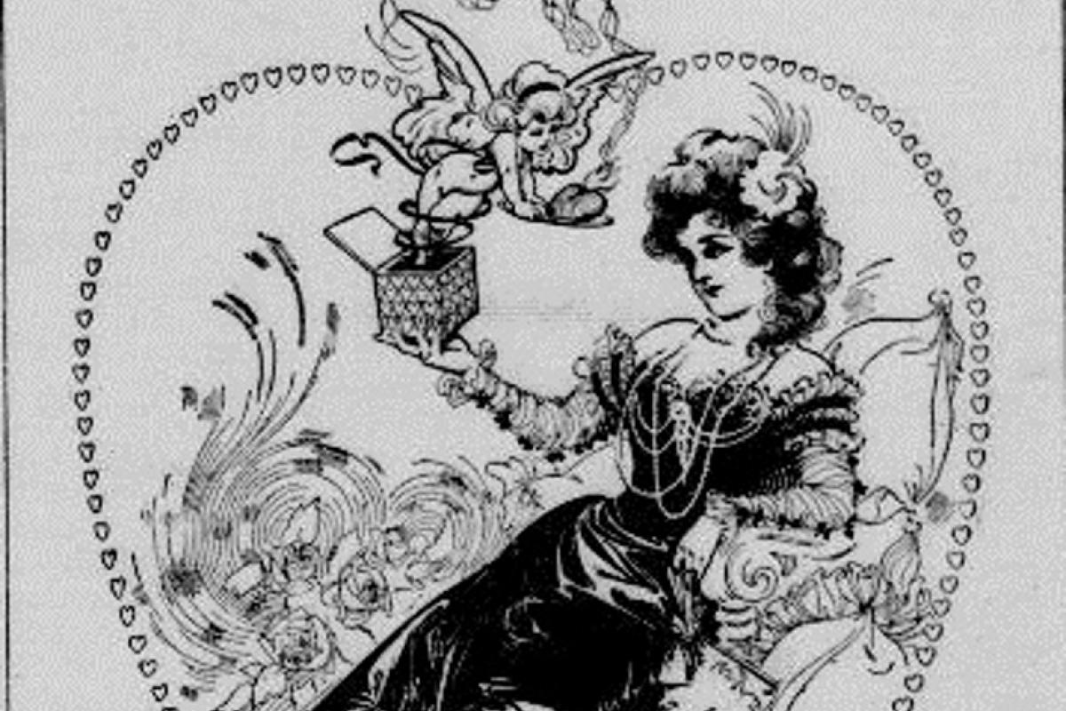"""St. Valentine's Day."" The Seattle Post-Intelligencer. (Seattle, Washington) February 14, 1900."
