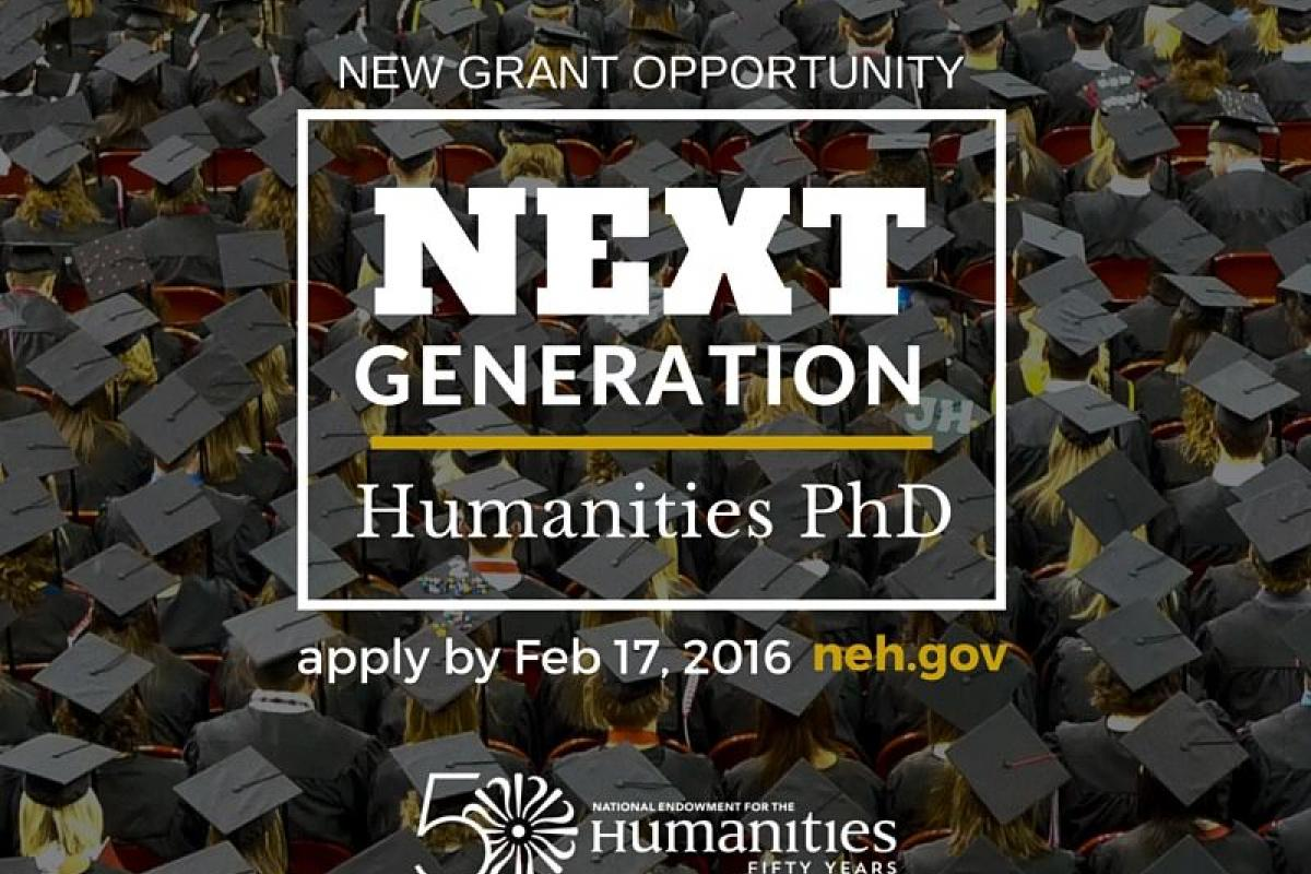NEH Next Generation Humanities PhD