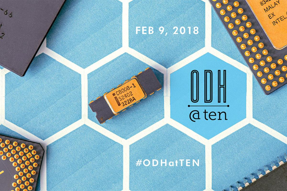ODH at Ten poster