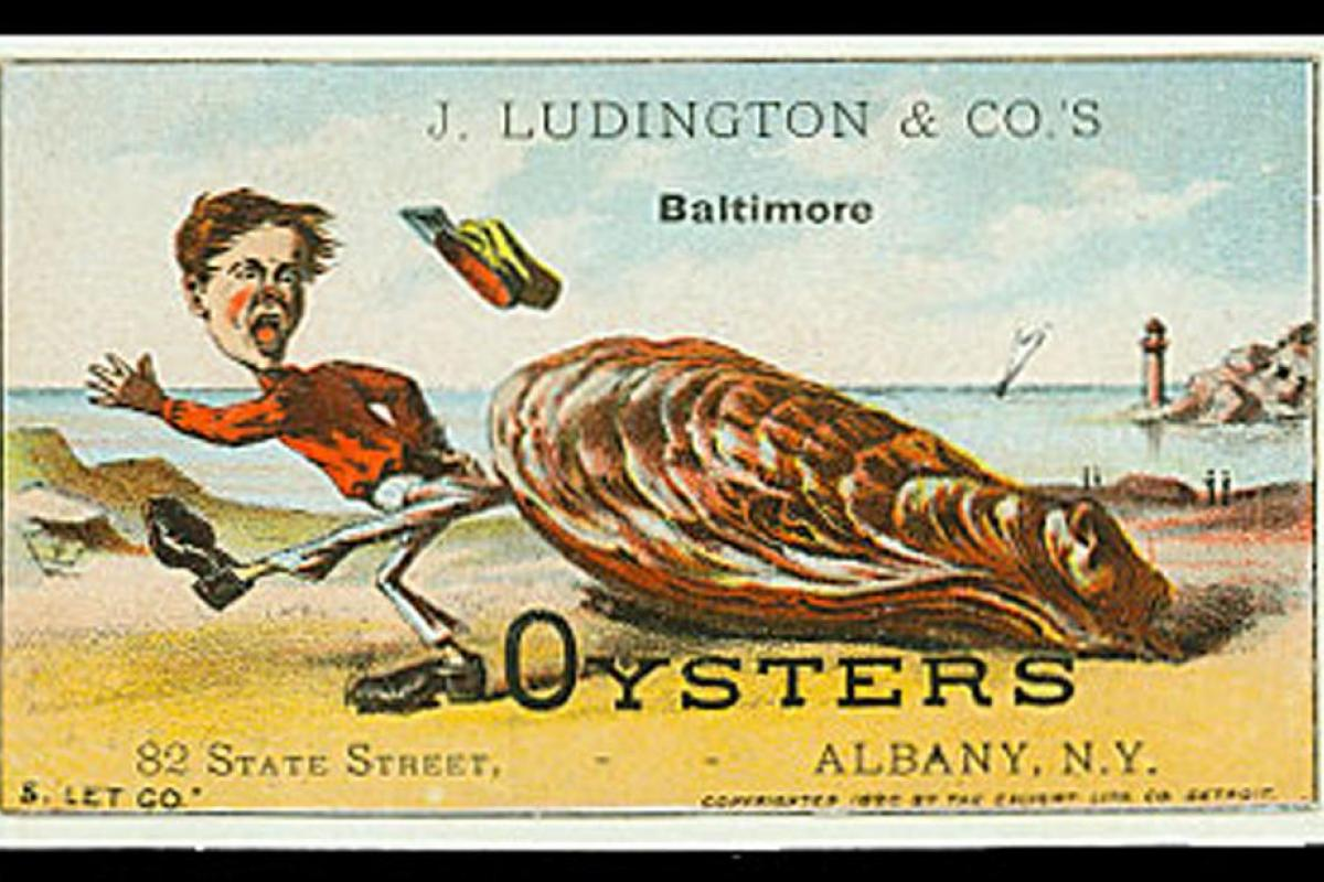 19th-century oyster advertising
