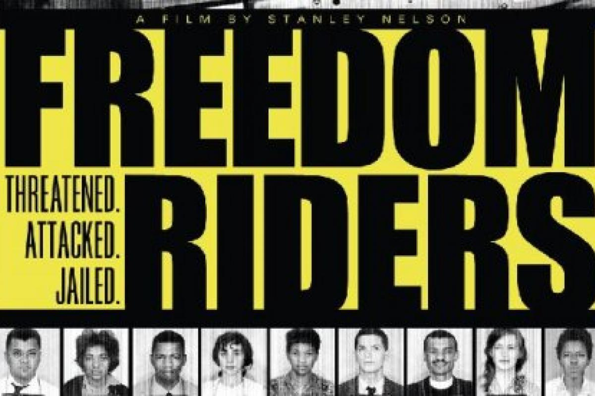 poster for Freedom Riders video