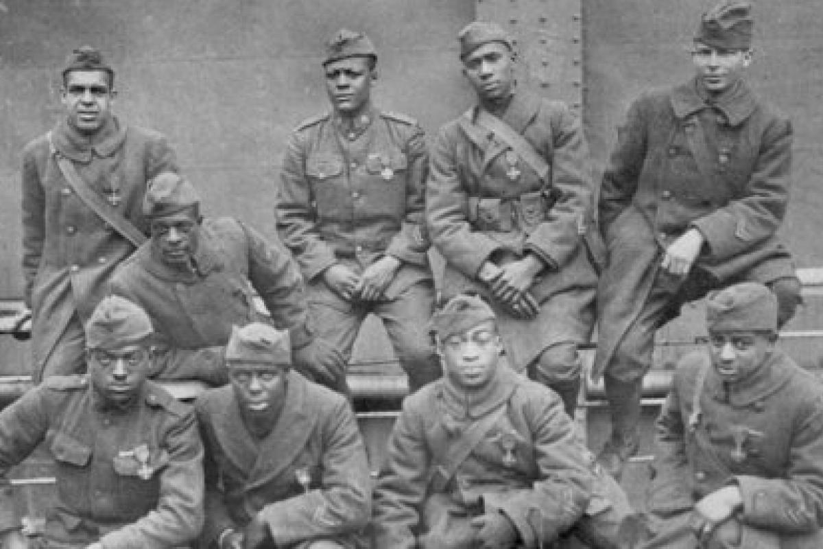 Soldiers of the 369th (15th N.Y.), 1919