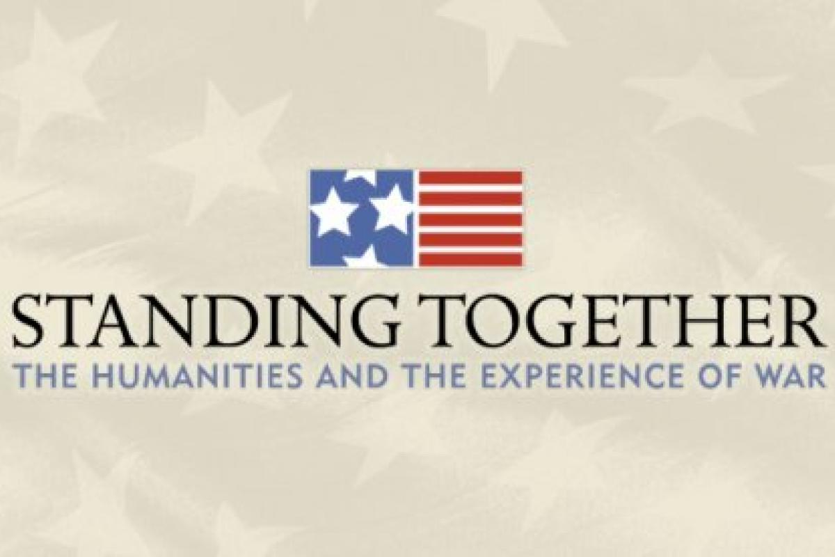 "Logo for the ""Standing Together"" project by NEH"
