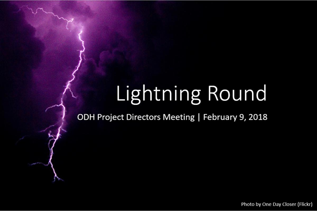 Lightning Round cover slide