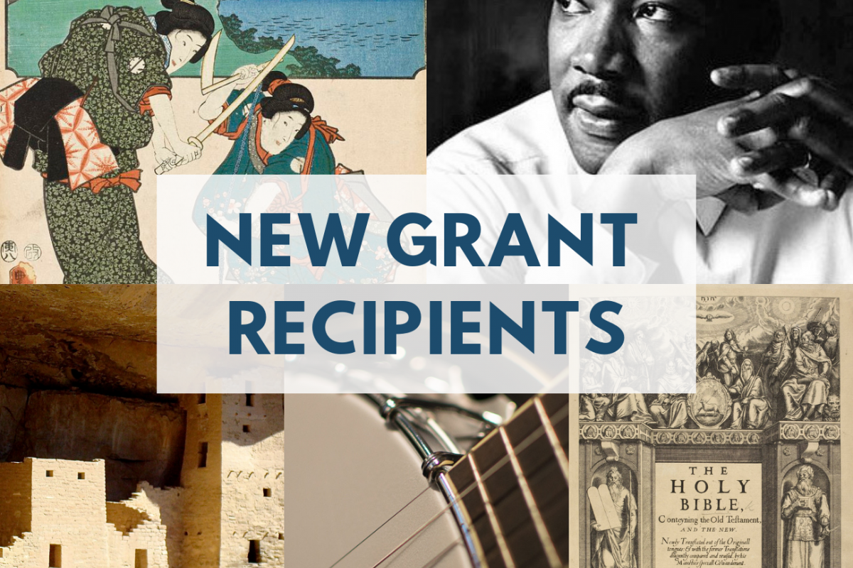 Mosaic of NEH images of NEH grant projects