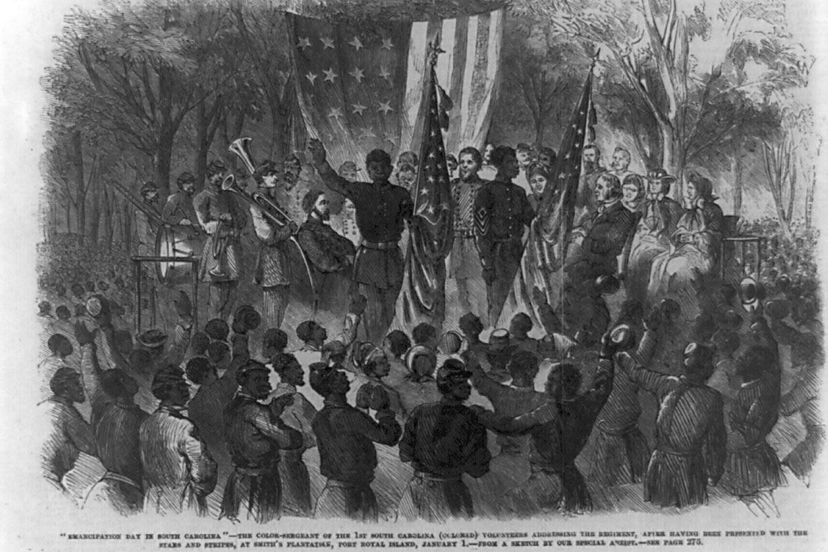 """Emancipation Day in South Carolina"""