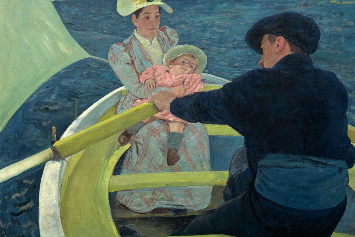 The Boating Party by Mary Cassatt.