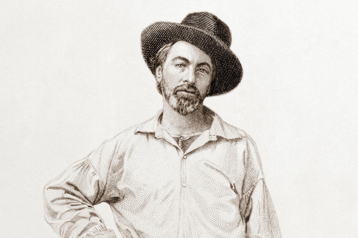 Walt Whitman illustration from Leaves of Grass.