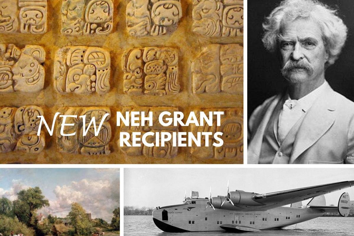 NEH July 2020 grants image