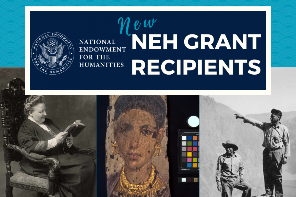 NEH Dec 2020 grants announcement graphic