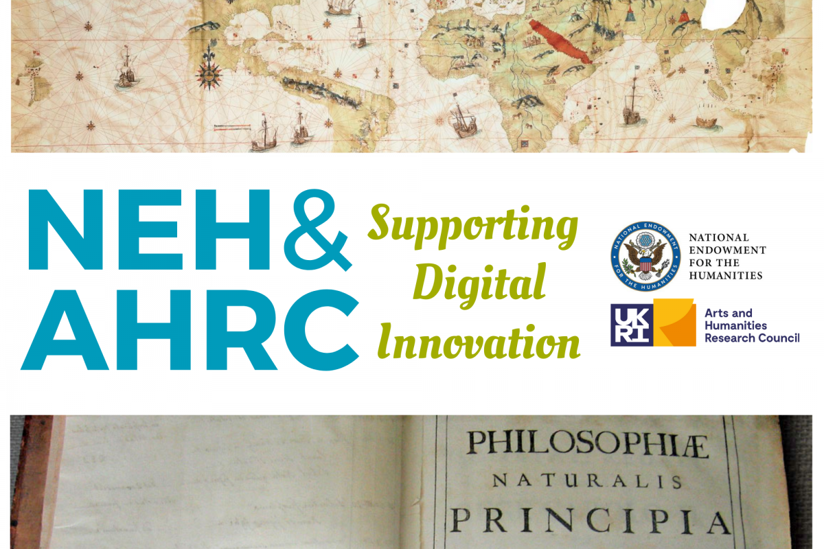 NEH AHRC grants graphic