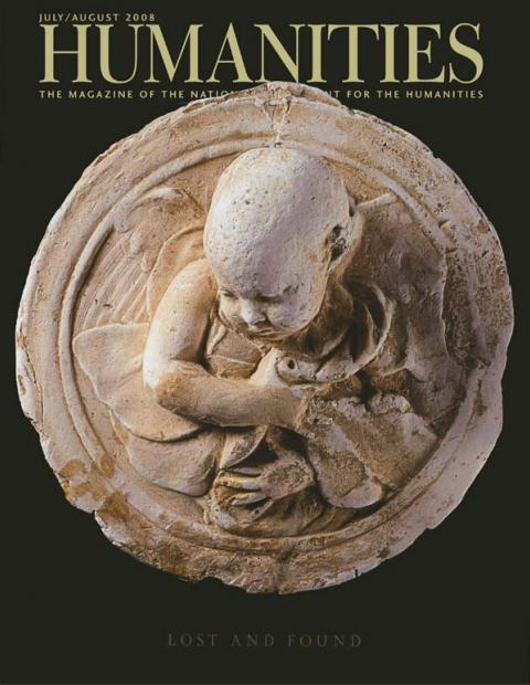 Humanities Magazine July/August 2008 cover