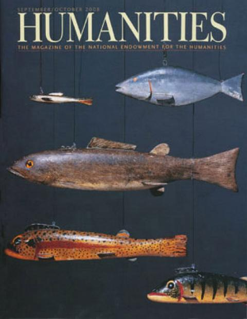 Humanities Magazine September/October 2008 cover