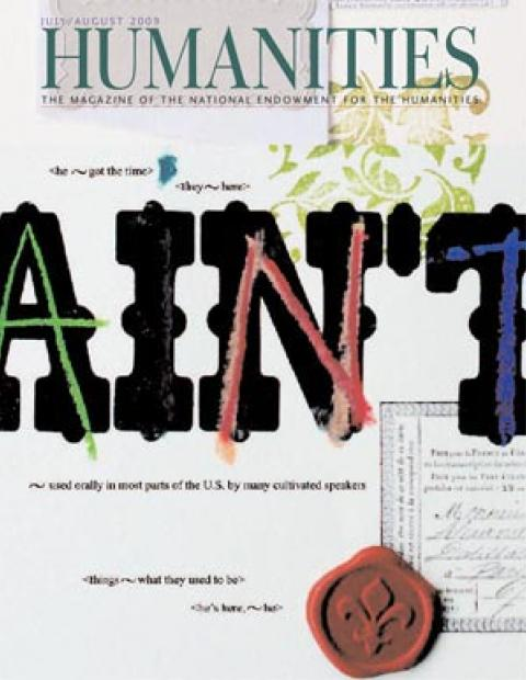Humanities Magazine July/August 2009 cover