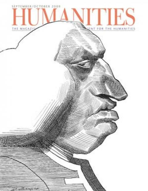 Humanities Magazine September/October 2009 cover