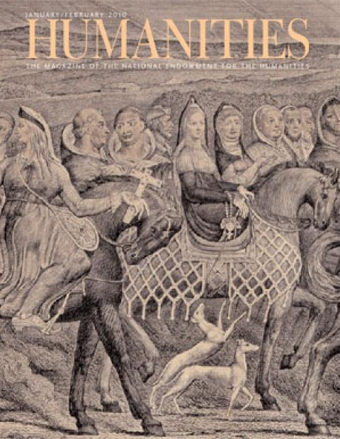 Image of January/February 2010 Humanities cover