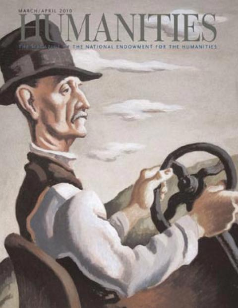 The Yankee Driver, Thomas Hart Benton