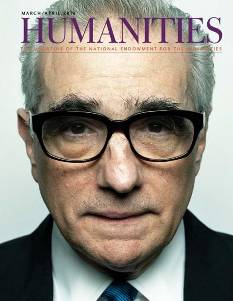 Photo portrait of Martin Scorsese