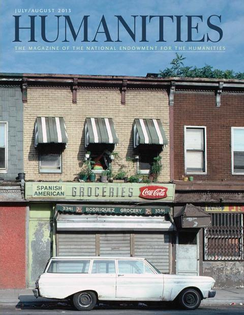 Cover for July/August 2013 Humanities magazine