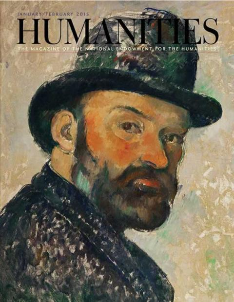 Cézanne self-portrait