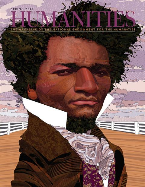 Cover illustration of Frederick Douglass