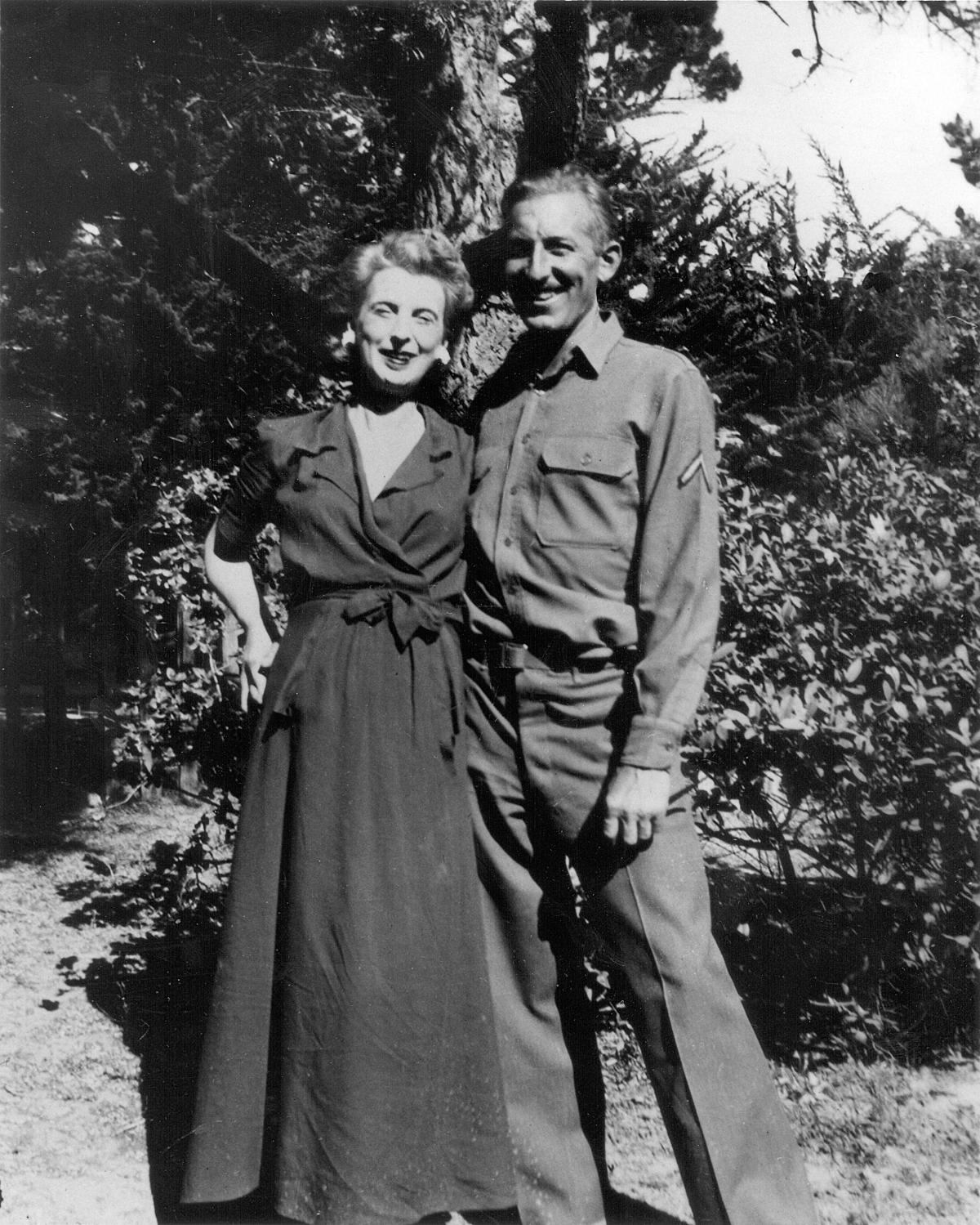 Kay Boyle and her third husband, Joseph Franckenstein
