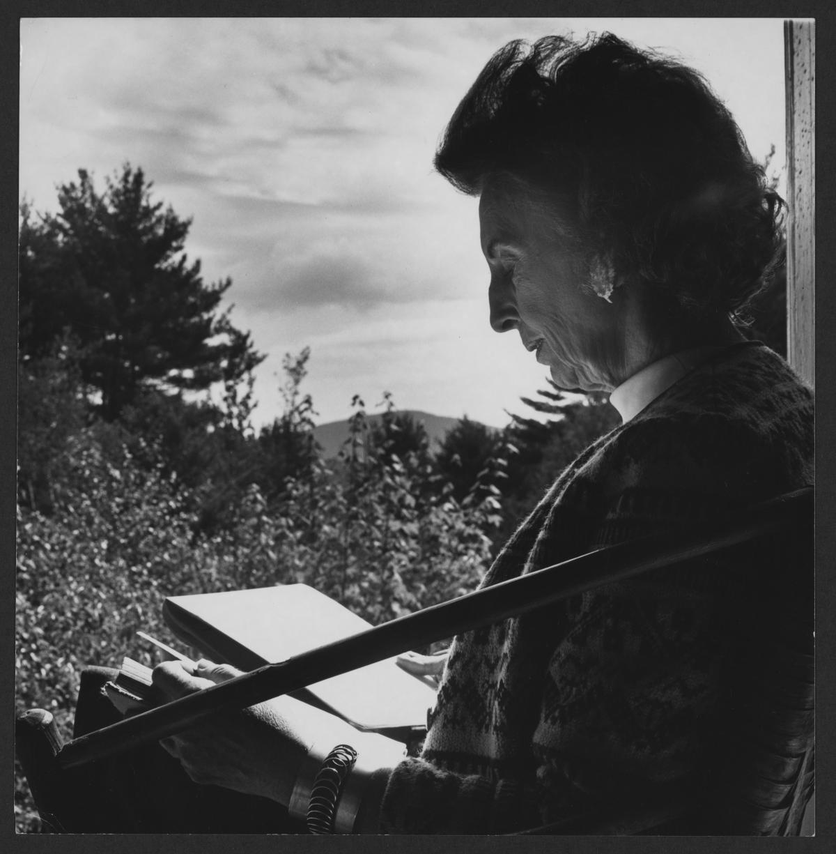 Kay Boyle at MacDowell Colony
