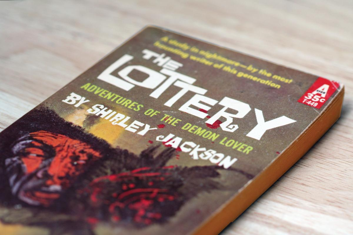 Cover of The Lottery by Shirley Jackson