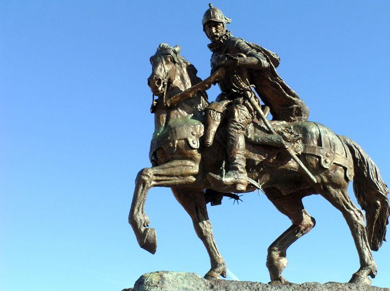 equestrian statue of Juan de Oñate, Captain General and First Governor of New Me